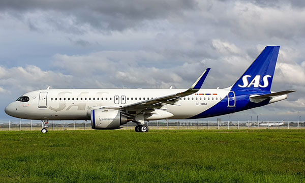 SAS Scandinavian Airlines Airbus A320neo fleet to be fully maintained by Magnetic MRO