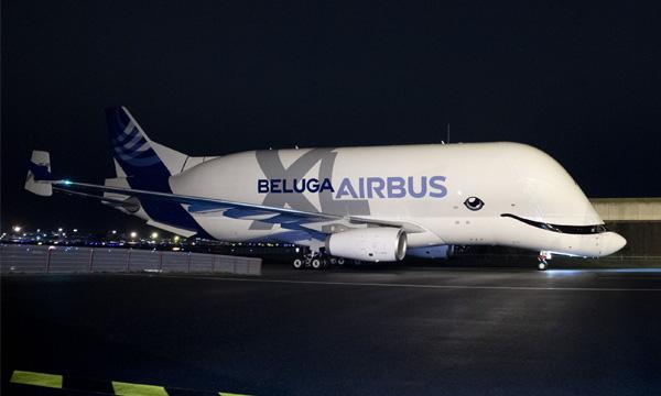 Le BelugaXL prend son service chez Airbus