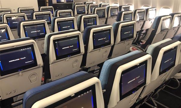 Air France présente les nouvelles cabines de ses Boeing 777 COI