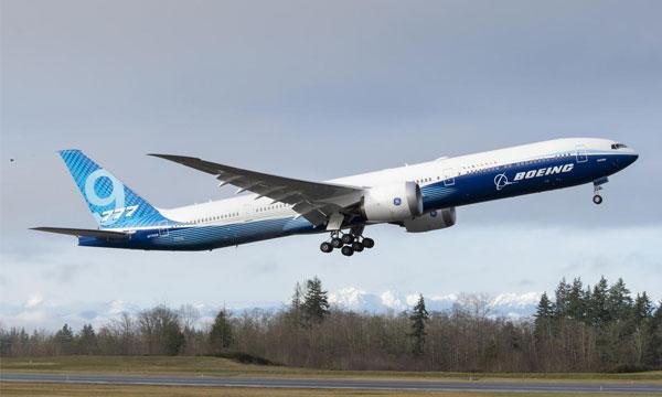 Boeing 777X : le 777-9 a réalisé avec succès son vol inaugural