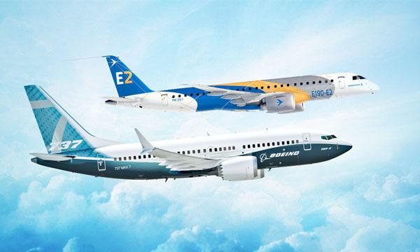 Embraer dans l'ombre de Boeing