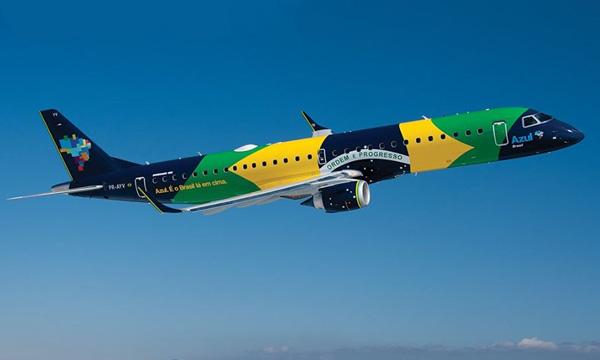 Azul va louer jusqu'à 53 Embraer à LOT et au projet « Moxy »