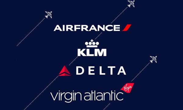 Air France, KLM, Delta et Virgin Atlantic lancent leur co-entreprise transatlantique