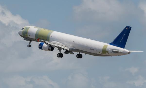 L'Airbus A321P2F est certifié par l'EASA