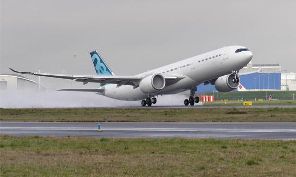 A330neo : Airbus fait voler l'A330-900 à 251 tonnes de MTOW