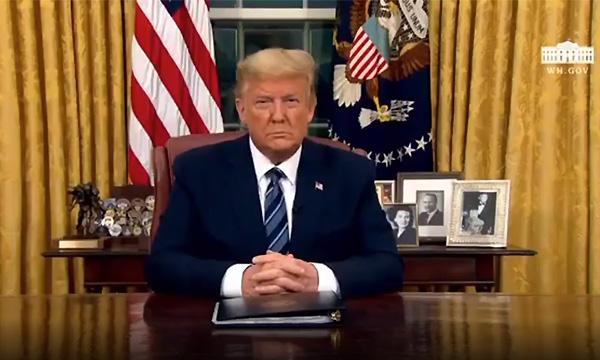 Coronavirus : Trump interdit aux Européens d'entrer aux Etats-Unis à partir de samedi