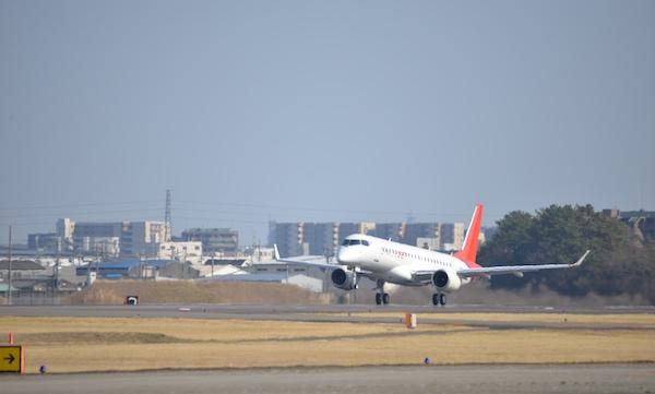 Le FTV10 du SpaceJet de Mitsubishi fait son premier vol