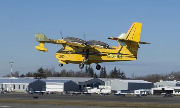 The new Viking CL-415EAF conversion programme takes off