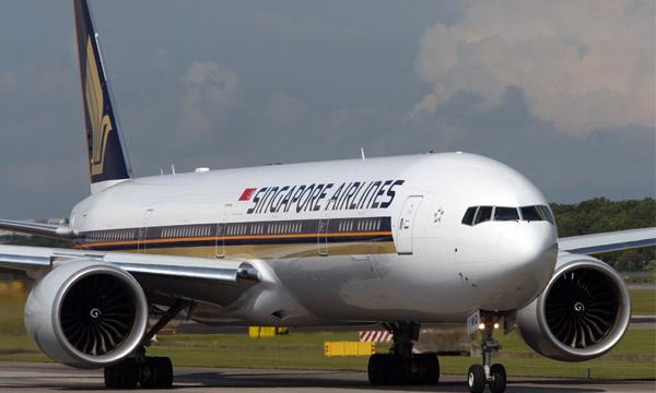 Singapore Airlines immobilise 96% de sa flotte
