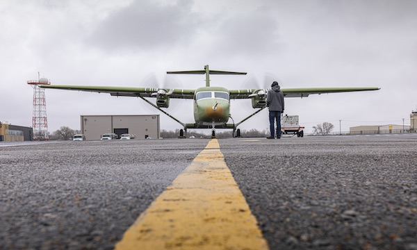 Cessna prépare le vol de son SkyCourier