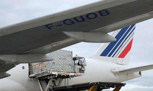 La France bâtit un pont aérien avec la Chine