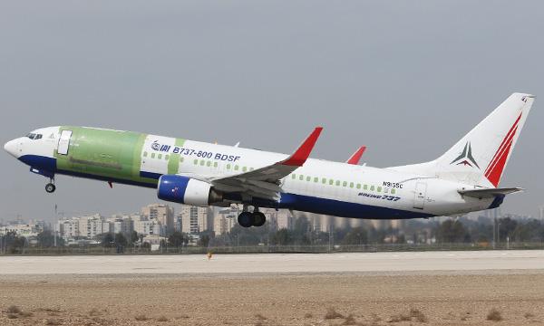 Le Boeing 737-800 BDSF de Bedek est prêt à prendre du service