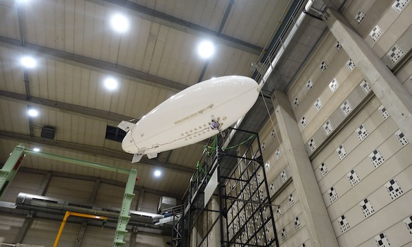 L'Onera teste le vol libre sur dirigeable avec Flying Whales