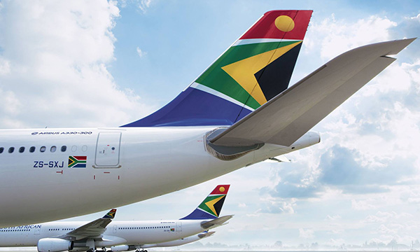 Le gouvernement renonce à soutenir encore South African Airways