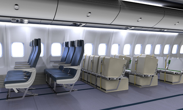 Social distancing : HAECO Cabin Solutions launches four stowage solutions to combine freight and passengers in aircraft main cabin