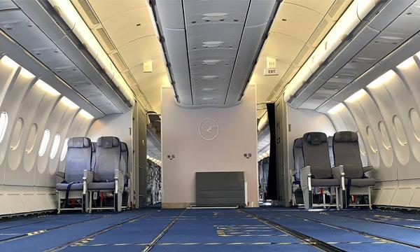 Lufthansa Technik développe des STC pour l'emport de fret en cabine