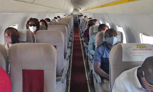 Reprise frileuse du trafic aérien en Afrique
