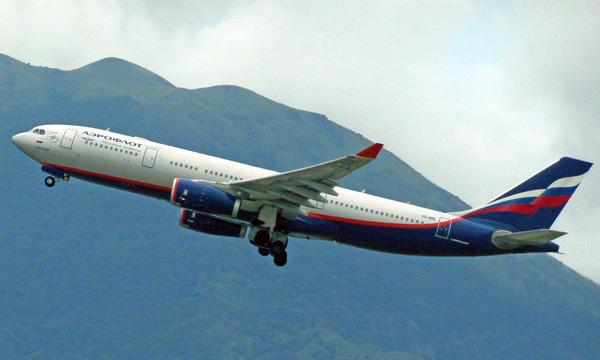 Aeroflot : le nombre de passagers transportés s'effondre en avril