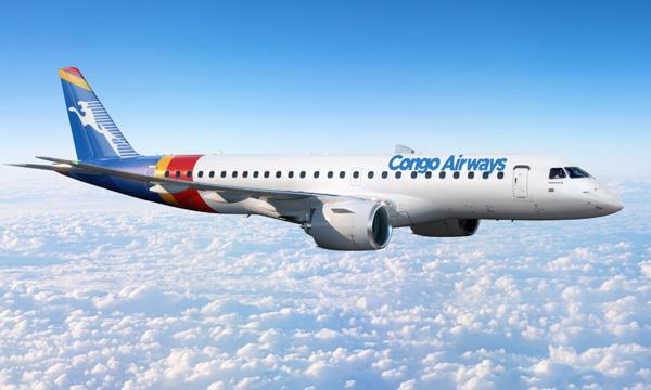 Avec l'Embraer E190-E2, Congo Airways prépare sa croissance