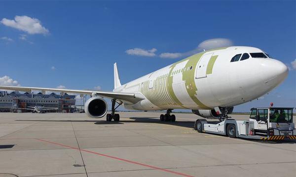 L'Airbus A330-300P2F d'EFW peut désormais prendre près de trois tonnes de fret en plus