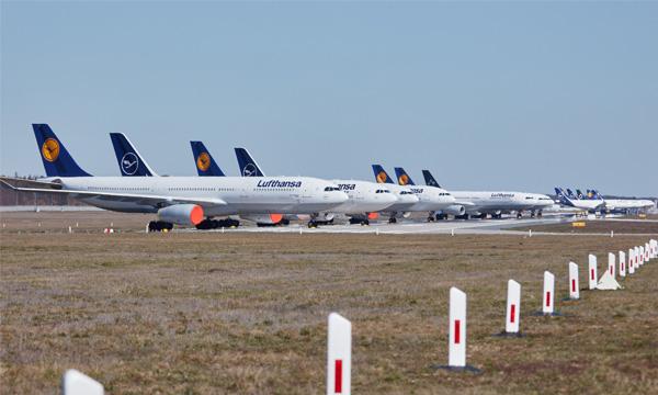 Lufthansa s'attend à une « lente » reprise de la demande