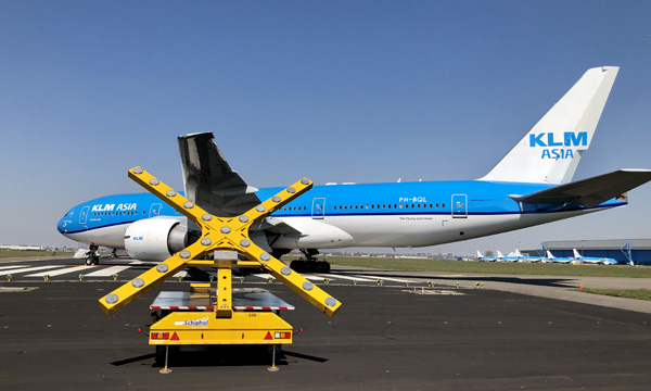 The Dutch government approves a 3.4 billion euros  bailout for KLM