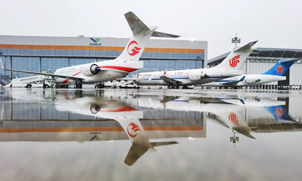 L'ARJ21 va pouvoir voler pour les trois grandes compagnies chinoises