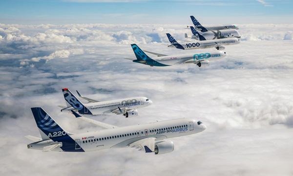 Airbus a livré 196 avions commerciaux au premier semestre