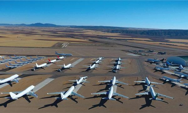Les nouveaux défis liés au stockage et au démantèlement d'avions commerciaux