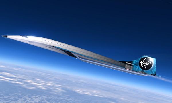 Virgin Galactic rêve de construire un avion de ligne supersonique