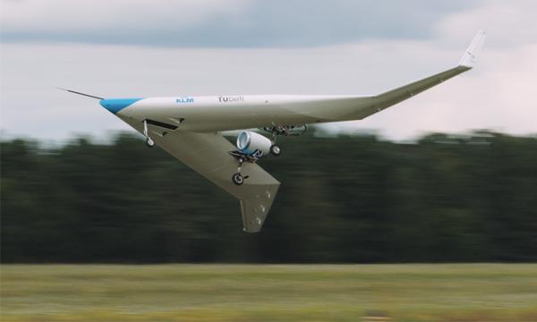Le Flying-V de TU Delft et KLM a volé