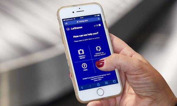 Lufthansa permet les réclamations bagage sur mobile avec SITA
