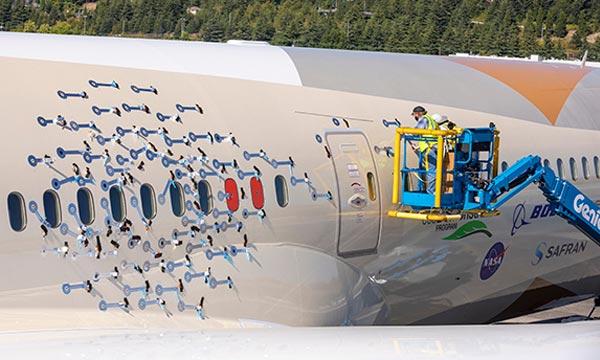L'ecoDemonstrator de Boeing  concentré sur le bruit