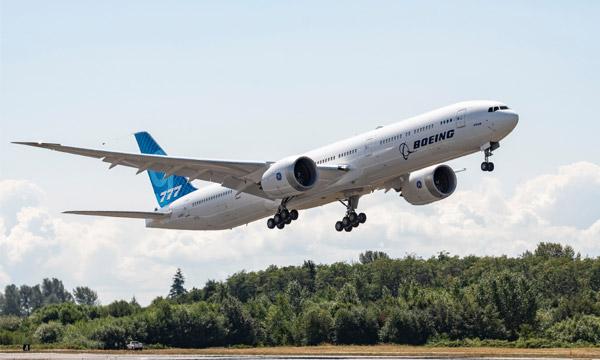 Le GE9X du 777X de Boeing est certifié par la FAA