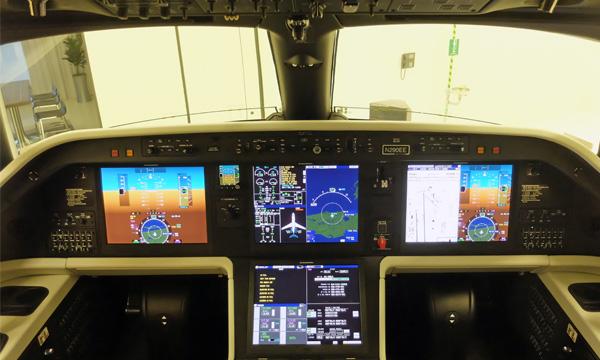 Le système d'approche avec vision synthétique d'Embraer est certifié sur ses Praetor 500 et Praetor 600