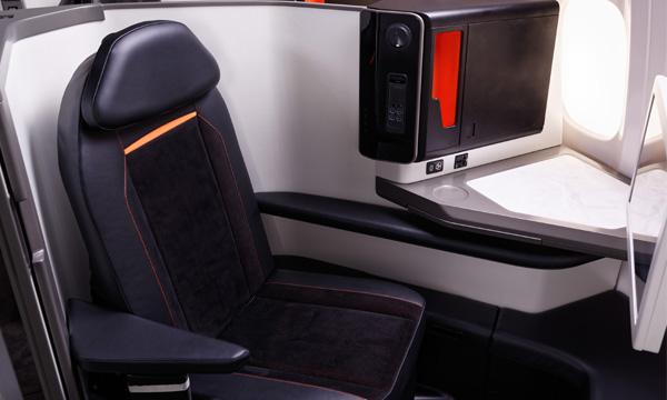 Avec Opera, Stelia Aerospace propose un fauteuil affaires haut de gamme sur monocouloir