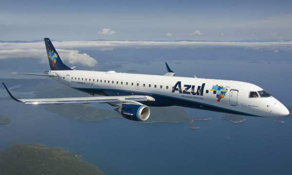 MRO: Azul uses the world's first Embraer E195 Preighter