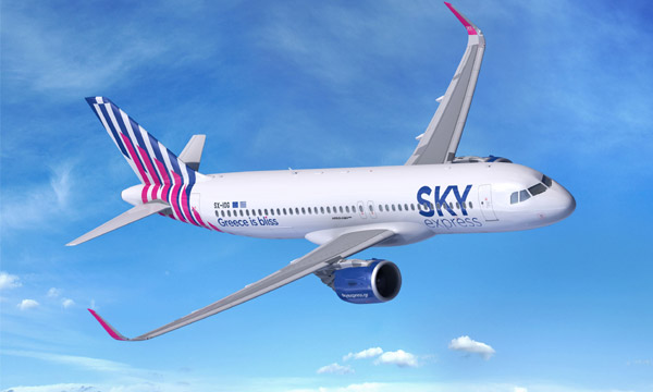 Sky Express commande quatre Airbus A320neo