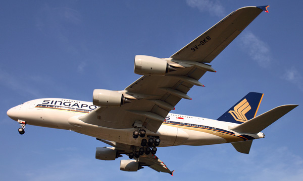 Singapore Airlines considère 7 de ses 19 A380  en « surplus »