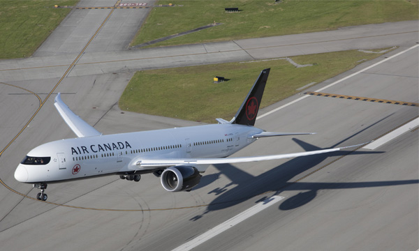 Air Canada creuse ses pertes au troisième trimestre