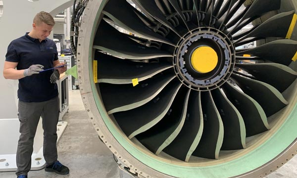 EME Aero completed its first regular customer engine shop visits
