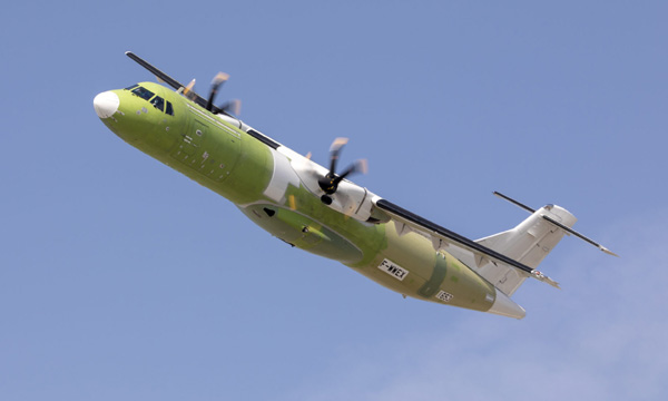 L'ATR 72-600 cargo reçoit sa certification EASA