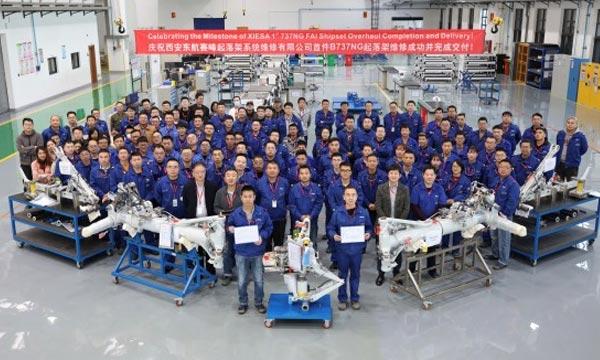 Le centre MRO de Safran Landing Systems et China Eastern est opérationnel