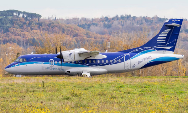 Air Saint-Pierre tient son ATR 42-600