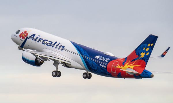 Aircalin réceptionne son premier Airbus A320neo