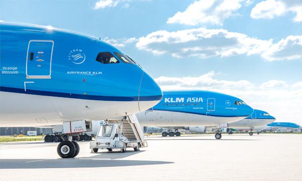 KLM suspend tous ses vols long-courrier et supprime près d'un millier d'emplois