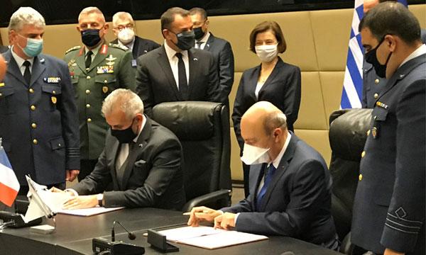 Le contrat des Rafale grecs est signé !