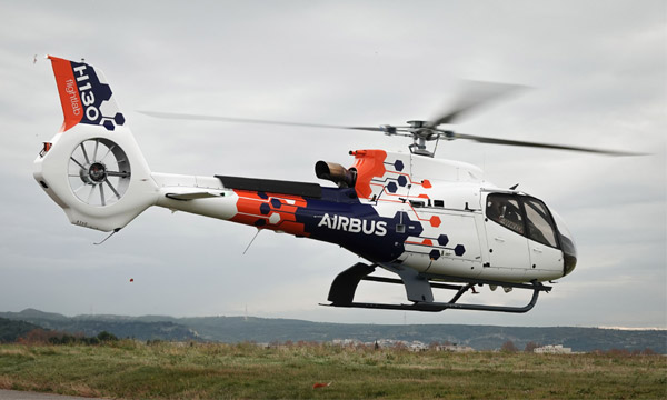 Airbus présente son H130 Flightlab