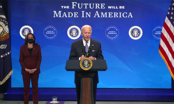 Joe Biden décrète la fin de l'ère Trump — États-Unis