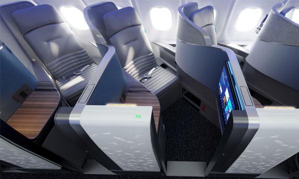 JetBlue lance le fauteuil VantageSOLO de Thompson Aero Seating avec son nouveau Mint